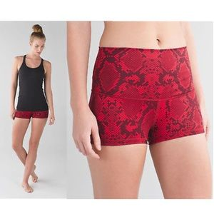 Lululemon boogie down roll down shorts